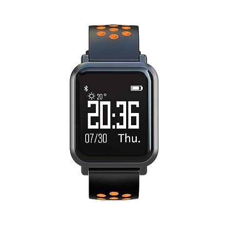 Leotec LESW10O Smartwatch, Naranja