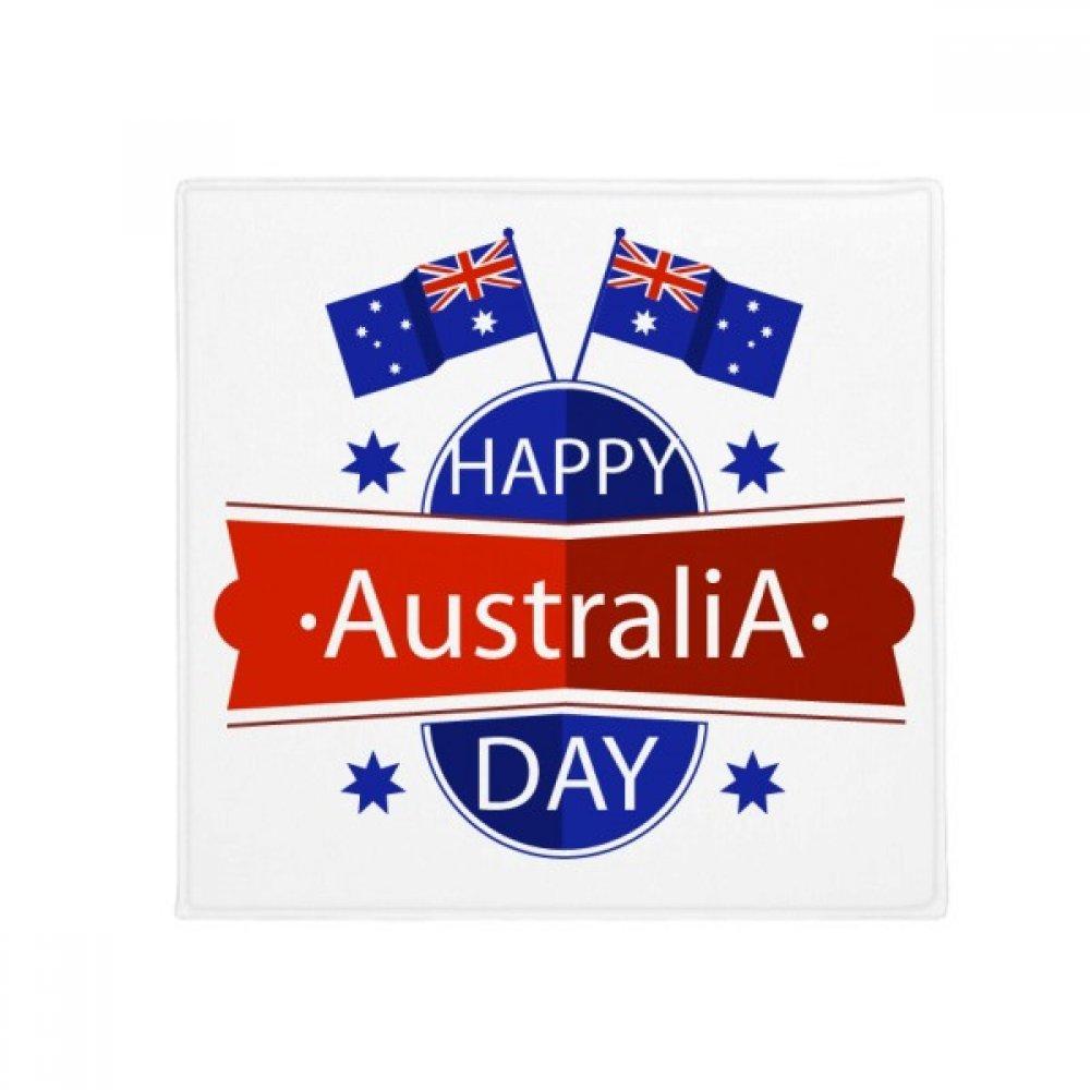 DIYthinker Australia Happy Australia Day Flag Anti-Slip Floor Pet Mat Square Home Kitchen Door 80Cm Gift