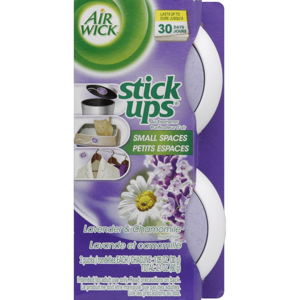 Air Wick Stick Ups Air Freshener, Sparkling Citrus, 2 Count, Small Space Odor Eliminator Manufacturer 6233885826