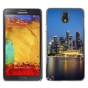 Hot Style Cell Phone PC Hard Case Cover // M00103393 shedding places reflection // Samsung Galaxy Note 3