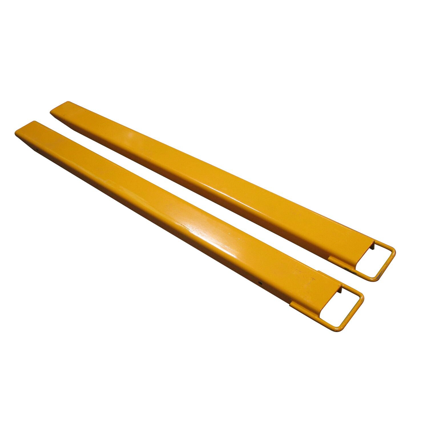 Eoslift EX724 Steel Fork Extensions Accommodates 4'' Fork Width 72'' Fork Length by Eoslift
