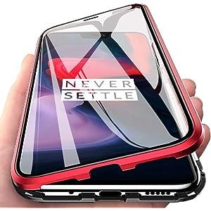 Amazon.com: Vsmano Oneplus 6 Magnetic Case, Magnetic ...