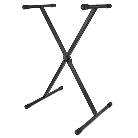 Amazon.com: Tiger Keyboard Stand - Folding Single Braced X Frame ...