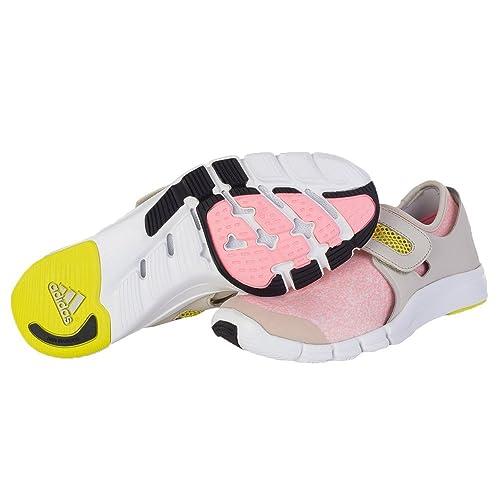 Adidas - Stella Mccartney Zais - B25130 - Couleur: Beige-Blanc-Rose - Pointure: 37.3  Bottes Femme YpWAjUw0Y