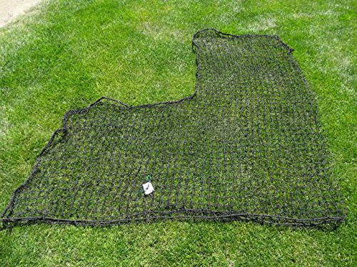 6'x6' HDPE L-Screen Baseball Protective Pitcher Screen Replacement Net by Pelican Sports