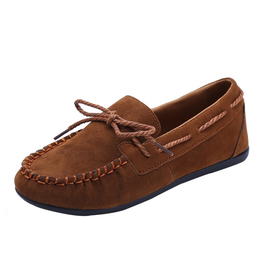 LUCKYCAT Sandales Mode d été Brun Femme, Prime Day Sandales Amazon Chaussures de Été Sandales à Talons Chaussures Plates Mode Tête Ronde Antidérapant Pois Chaussures Brun ccc4554 - jessicalock.space