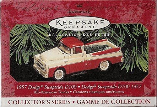 Hallmark Keepsake 1957 Dodge Sweptside D100 1999 Christmas Ornament