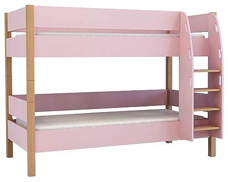 Etagenbett 180 90 : Xxl colorland etagenbett für mädchen kinderbett 90 x 200 cm