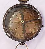Nautical Brass Compass Vintage Style Titanic