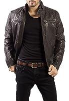 Syedna Brown Leather Men'S Jacket