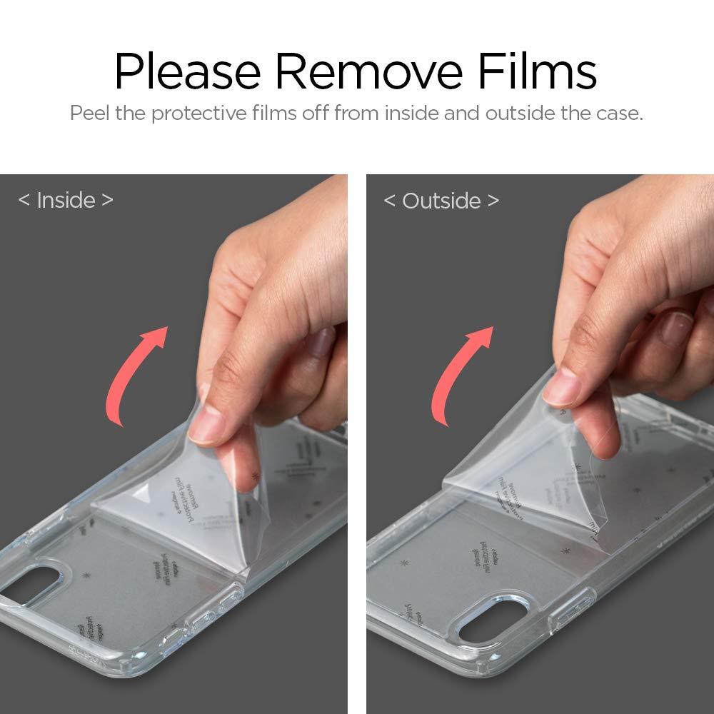 7b98c183a21 Amazon.com: Spigen Ultra Hybrid Designed for Apple iPhone Xs Case (2018) /  Designed for Apple iPhone X Case (2017) - Matte Black: Cell Phones &  Accessories