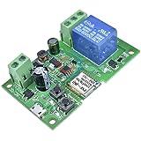 Módulo relé 7v a 32v para portão eletrônico e Fechaduras