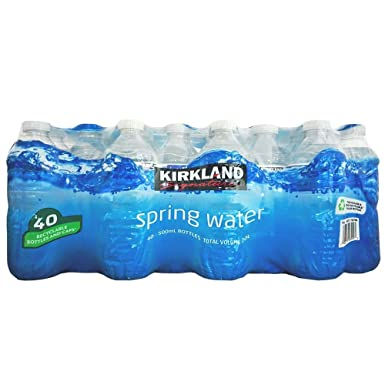 Kirkland Signature Spring Water 500ml, 40 Bottles