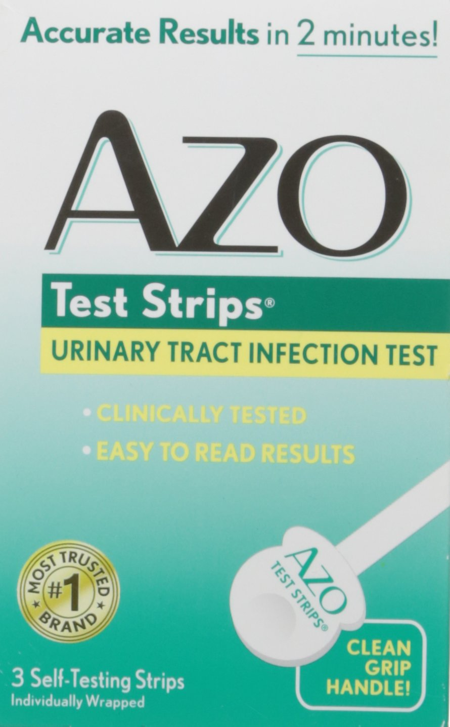 Azo Test Strips, 3 Count(Packaging may vary) by Azo Naturals