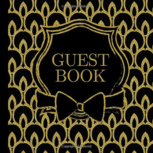 Guest Book: Black and Gold Party Guest Book Includes Picture Pages Plus Bonus Gift Tracker You Can Print Out to Make Your Birthday Party Even More ... Gold Birthday Party Invitations) (Volume 1) pdf epub