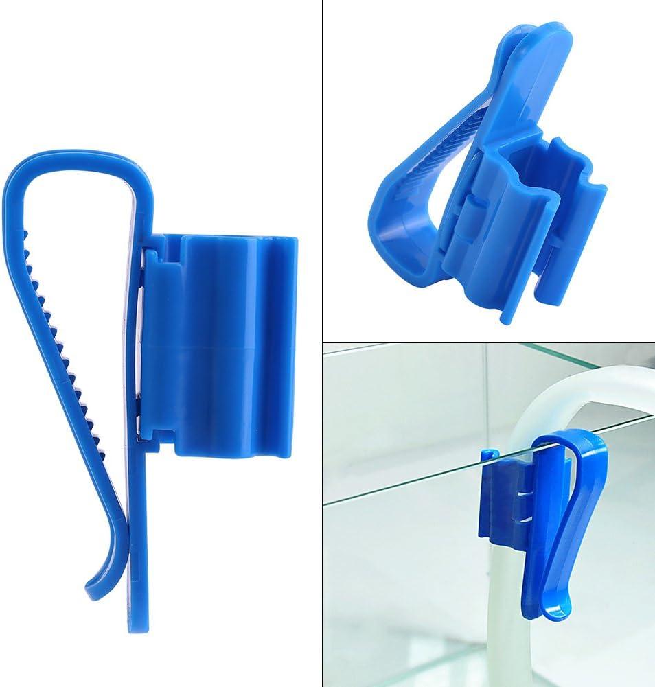 2Pcs Pipe /À Eau Clip Professionnel Multifonction En Plastique Taille Moyenne R/éservoir De Poissons Montage Tuyau Pince Aquarium /Équipement Accessoires