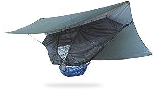 Crua Koala Maxx Set 2 Person Hammock Full Set - USA Based, Fishing,Hiking,Mountaineering, Motorcycle,Tent,Waterproof, Portable, Lightweight