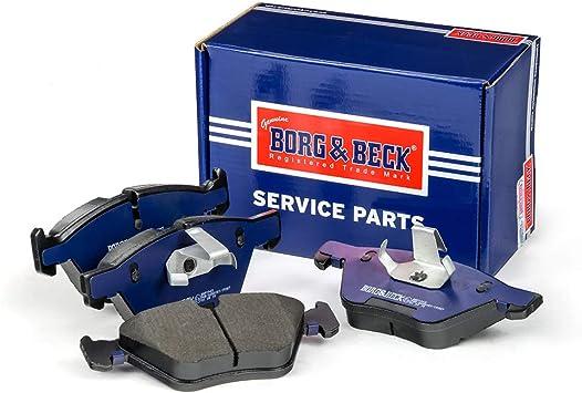 Ate - Teves Borg /& Beck BBP2572 Front Brake Pads