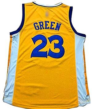 Golden State Warriors 23 draymond personalizada camiseta del tamaño L Amarillo