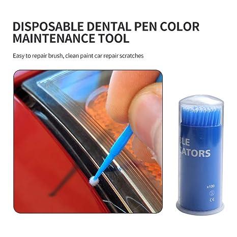 Car Paint Chip Repair >> Amazon Com Touch Up Paint Brushes For Automotive Paint Chip