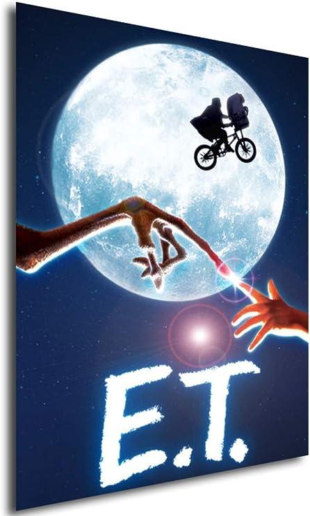 Instabuy Poster Cartel de pelicula - E.T, el Extraterrestre ...