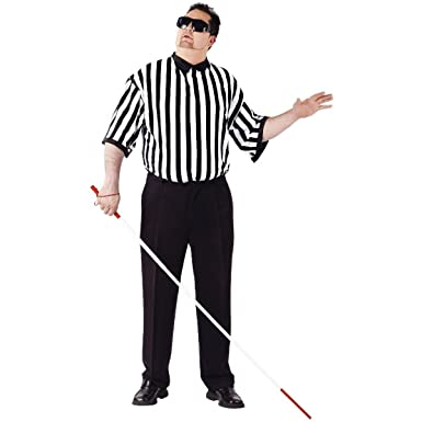 Blind referee adult costume photos 689