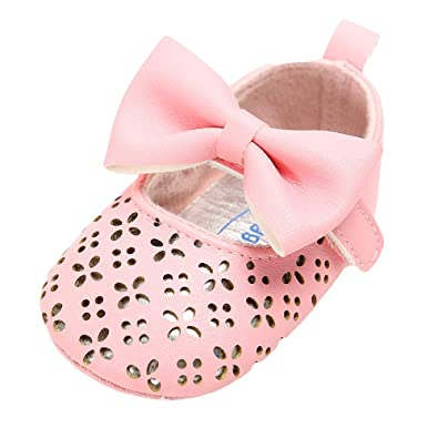 In Newborn White Bowknot Dot First Walker Baby Girl Lace Shoes Prewalker Anti-slip Simple Baby Shoes Fashionable Style;