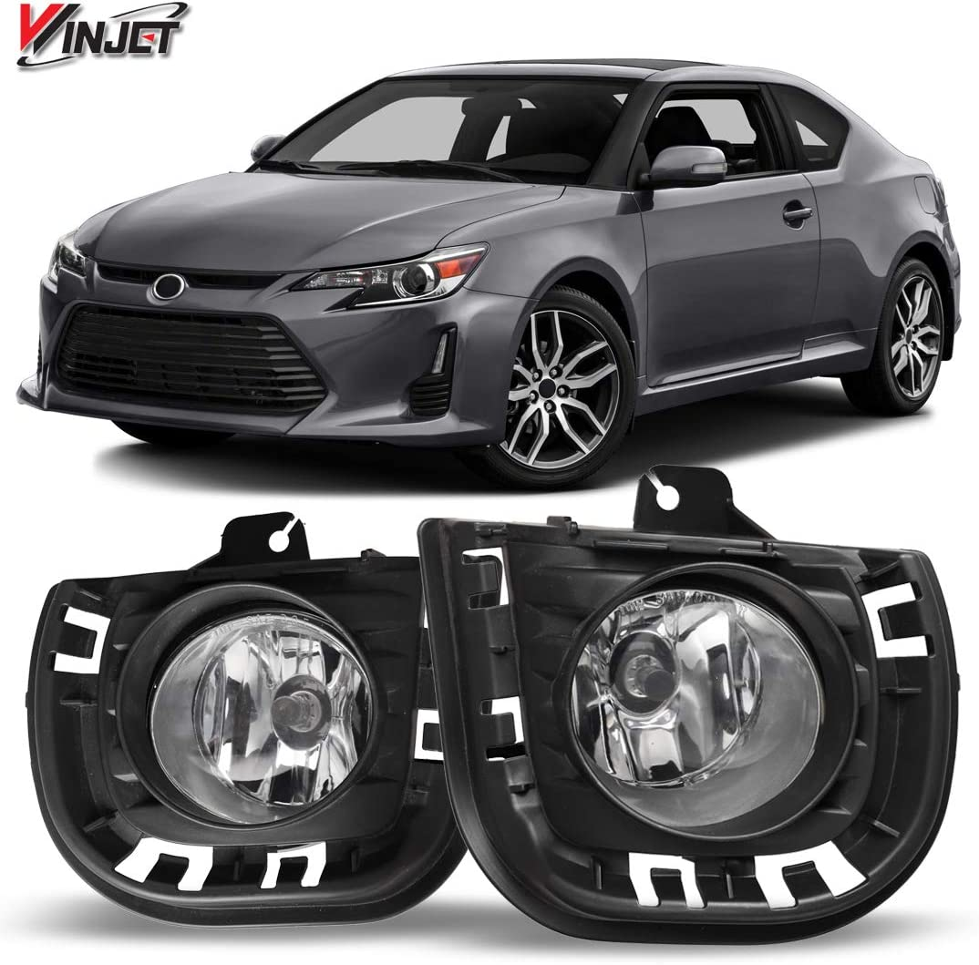 2005 2006 2007 2008 2009 2010 Scion tC Switch Grille Fog Lights Wiring Kit Winjet Compatible with