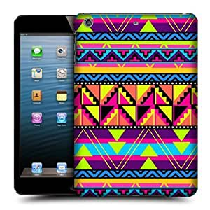 Head Case Designs Cool Neon Aztec Protective Snap-on Hard Back Case Cover for Apple iPad mini with Retina Display iPad mini 3