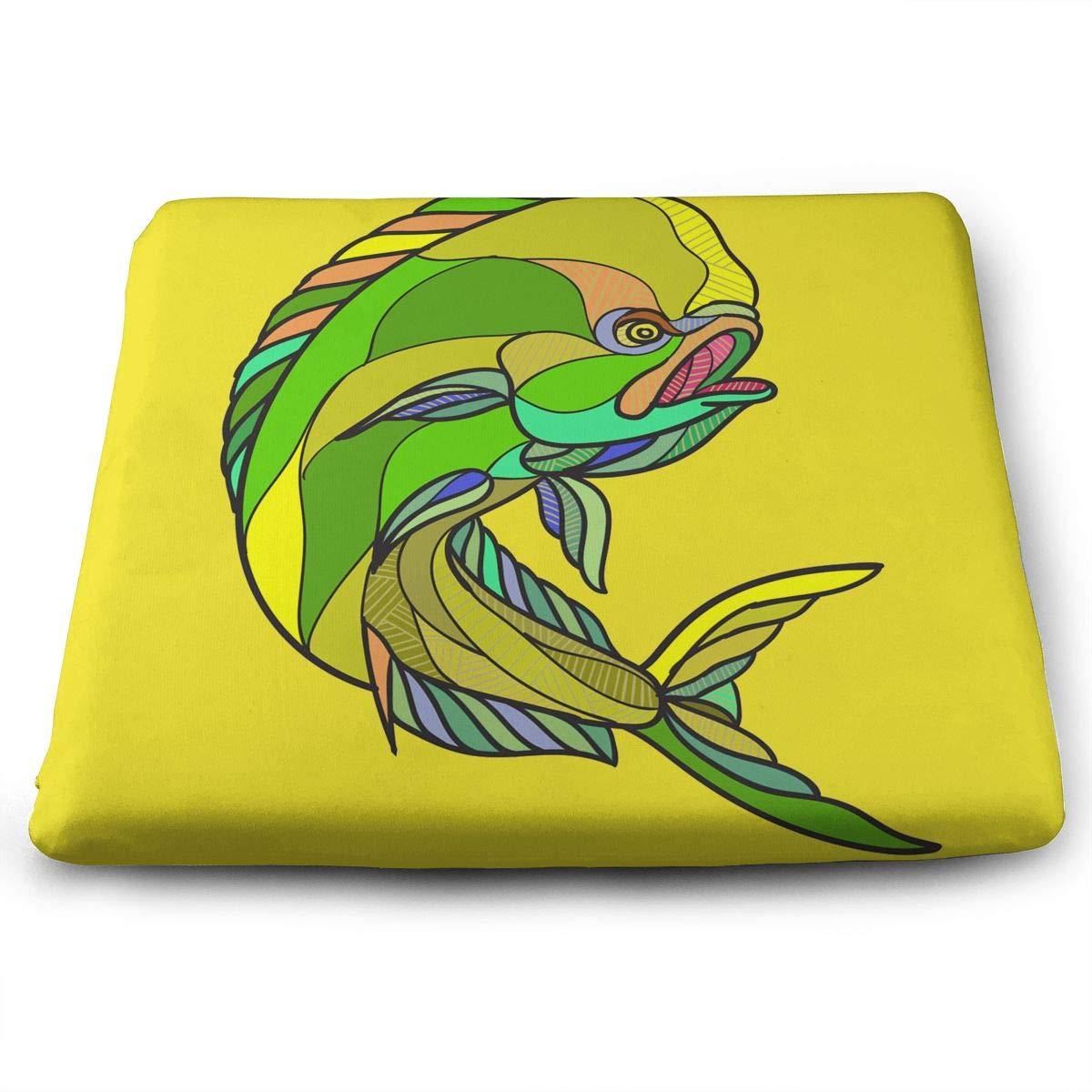 Amazon.com: Mahi-Mahi Dorado Dolphin Fish Drawing Memory ...