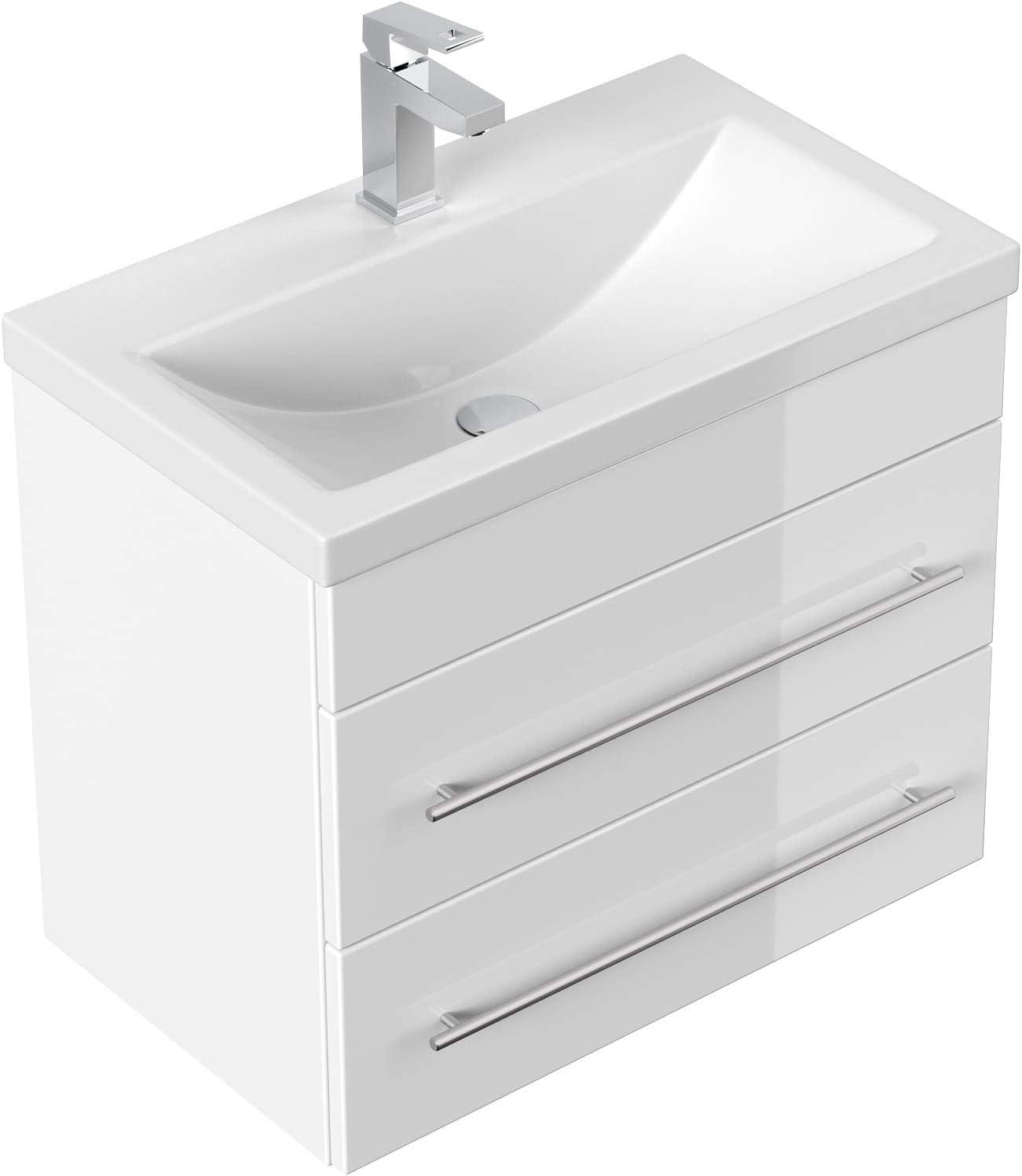 emotion Bathroom Furniture Mars 3 SlimLine White High-Gloss