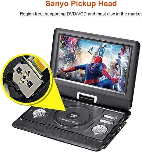 JAYE Reproductor de DVD portátil, 10.1 Pulgadas Reproductor de DVD ...