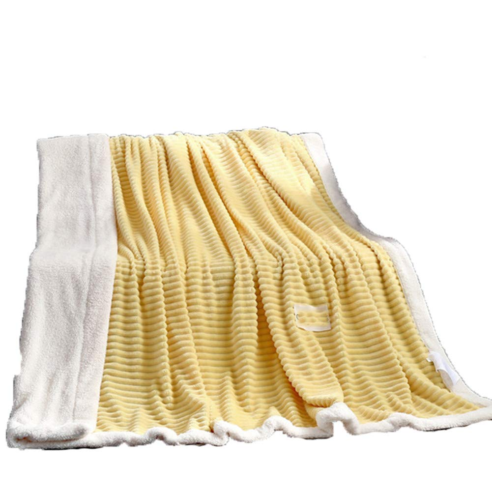FOREVER-YOU Blanket Flannel Thickened Winter Warm Cover Blanket Towel Quilt Sheet, 1.5 * 2m,g