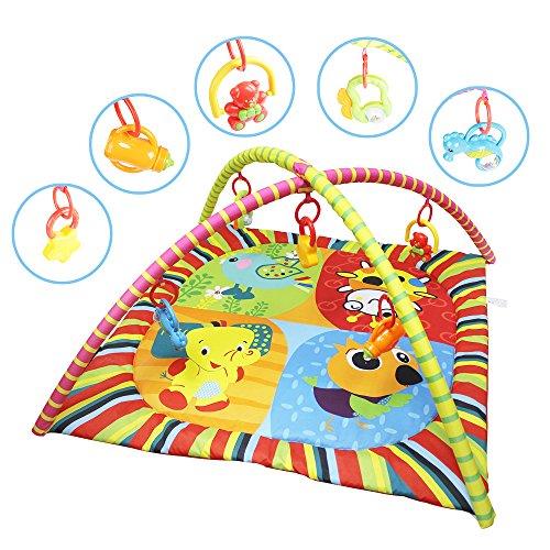 SPEED Krabbeldecke Baby Spieldecke Spielbogen Erlebnisdecke Spielmatte Babydecke Neu