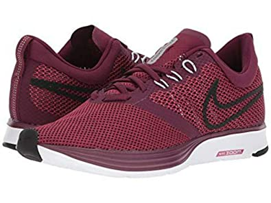 66e626b0f7fd5 Nike Womens WMNS Zoom Strike Bordeaux/Black Rush Maroon WHT Size 9.5