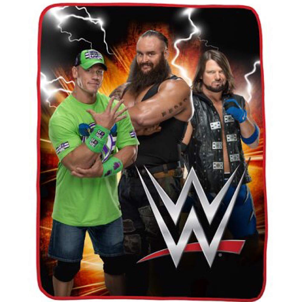 WWE Kids Bedding Plush Blanket by WWE Kids