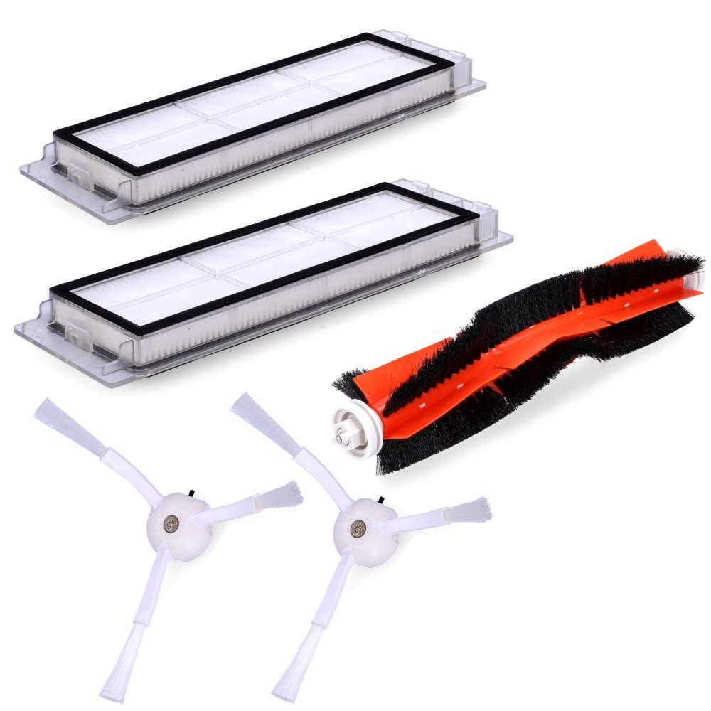 Wessper Kit de Accesorios para Xiaomi Mi Robot Vacuum Cleaner 1 (5 ...