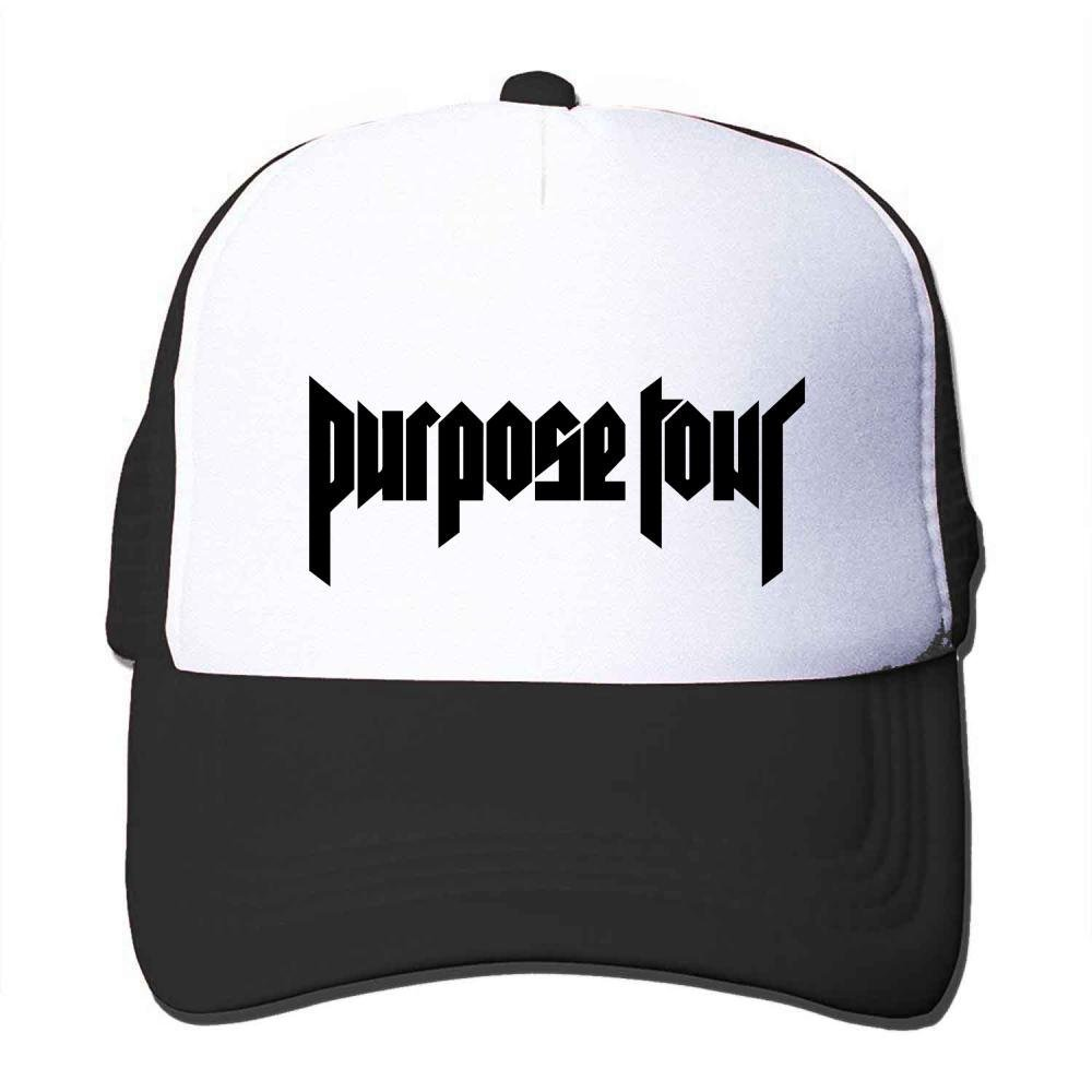 Custom Purpose Tour Classical Logo Trucker Hat Black Sun Hat at Amazon Mens Clothing store: