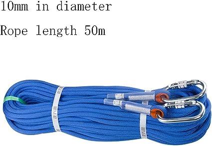 Equipo de escalada Cuerda de rappel de 10 mm de diámetro ...