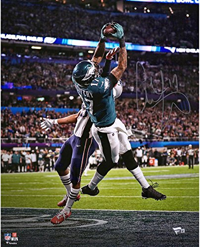 Super Nfl Bowl Autographed (Alshon Jeffery Philadelphia Eagles Autographed 16