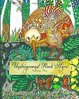 Underground Rock Stars Adult Colouring Book