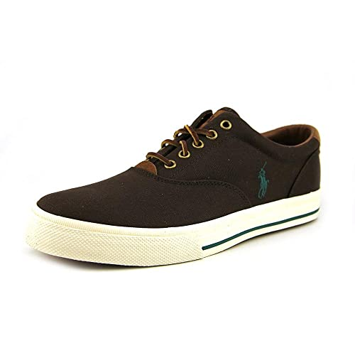 Polo Ralph Lauren Vaughn Hombre Deportivas Zapatos Talla: Amazon ...