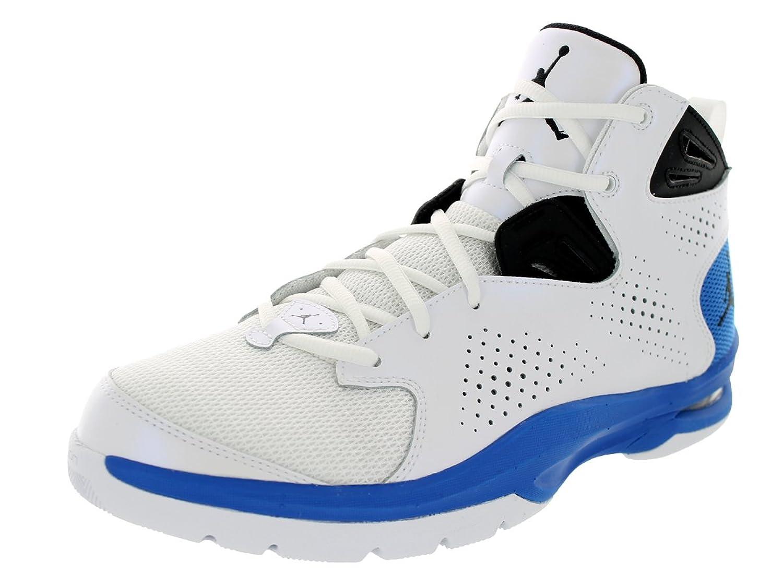 Amazon.com | Nike Jordan Men\u0027s Jordan Ace 23 II White/Black/Sport  Blue/White Basketball Shoe 9.5 Men US | Running