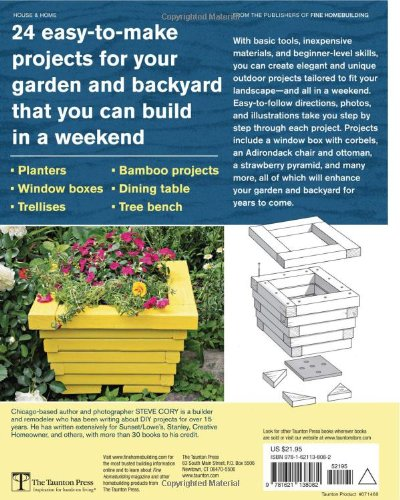 Outdoor Wood Projects: 24 Projects You Can Build in a Weekend by Taunton Press (Image #2)