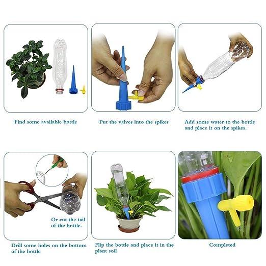 ZHAO YING Sistema de espigas for Plantas de Interior y ...