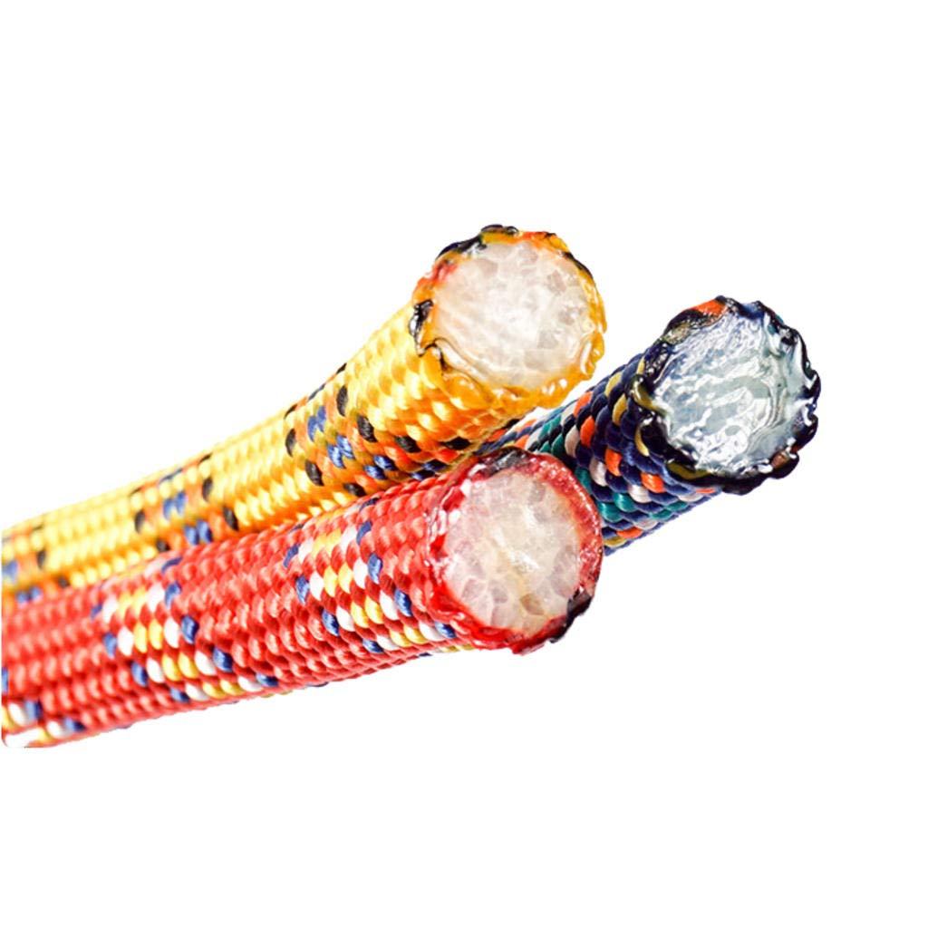 MODKOY corda darrampicata in 8mm diametro scalare in discesa assistito allaperto le attrezzature di sopravvivenza con due ganci