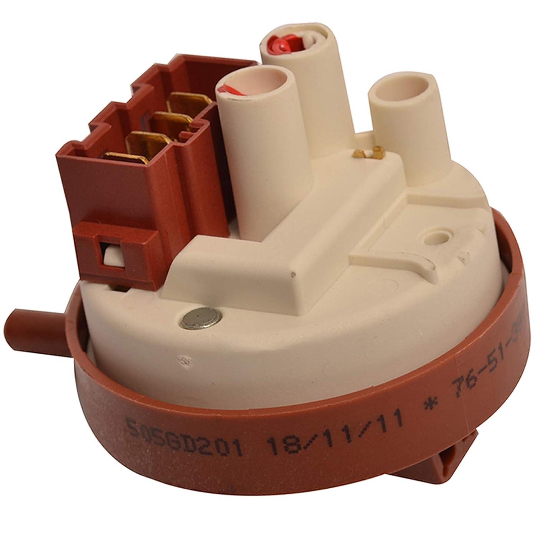 Spares2go - Interruptor de presión para lavadora Hotpoint-Ariston ...