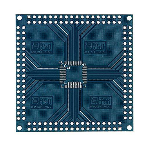 Qfn Dip Adapter - WuLian QFN 32/44/48/64/100/144 Pin 0.5mm to Wall DIP Adapter Converter