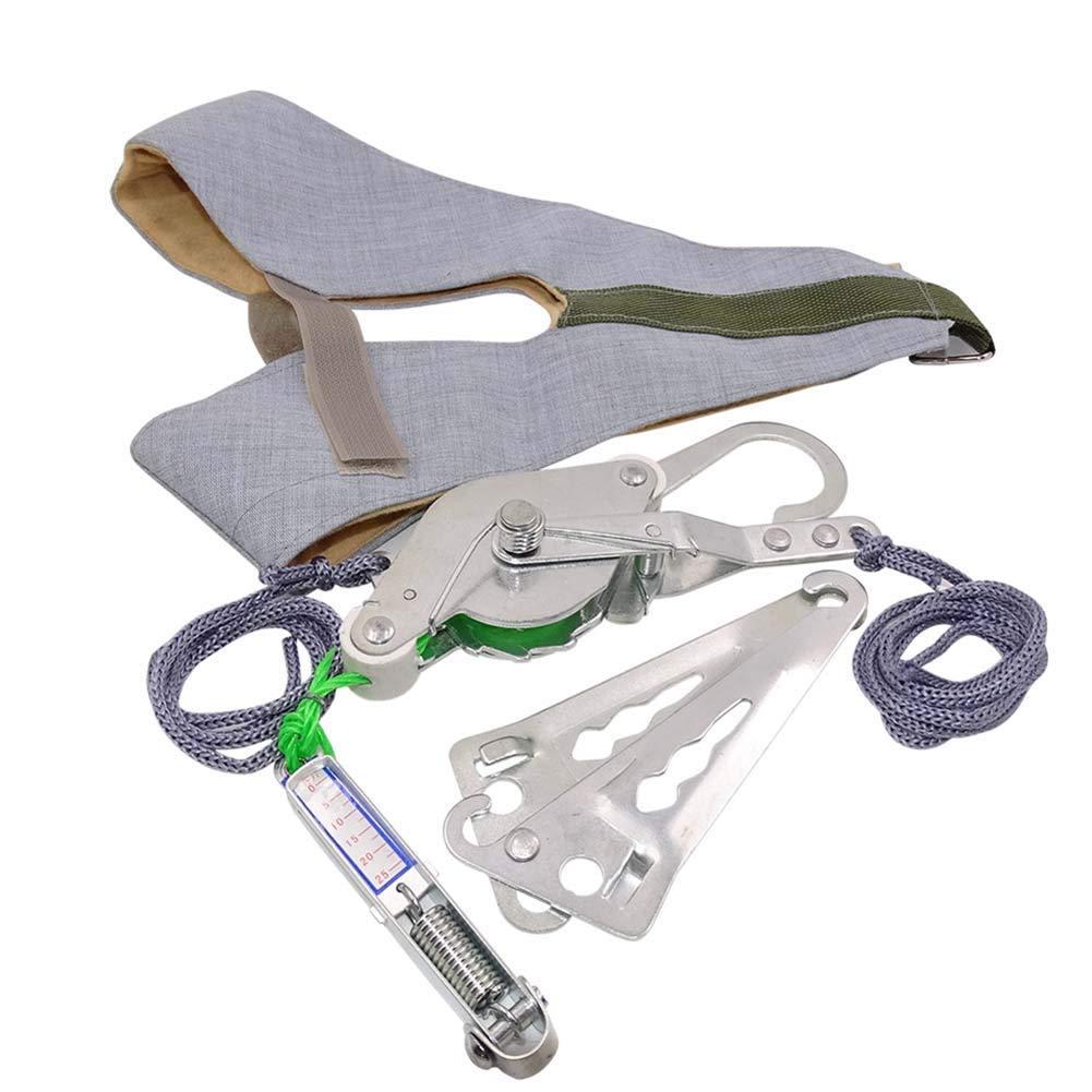 YUXINCAI Porta Kit di Trazione Cervicale Supporto per Stent al Collo Decompressione del Collo Allevia Il Dolore Spinale