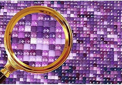 Brallant Rose noire Cristaux de bricolage Peinture de diamant strass Peinture coll/ée par nombre de kits Point de croix broderie Cupcinu Kit de peinture au diamant